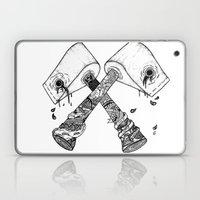 Chop Some Wood Laptop & iPad Skin