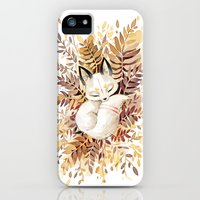 iPhone Cases featuring Slumber by Freeminds