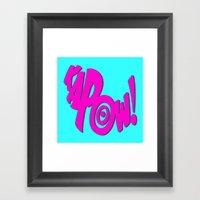 KAPOW! # 3 Framed Art Print