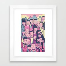 Grand Hotel Framed Art Print