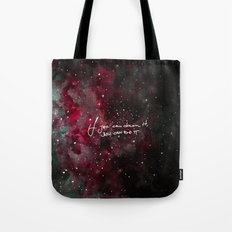 You can do it-red Tote Bag