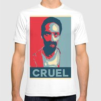 Cruel Cruelcruelcruel Mens Fitted Tee White SMALL