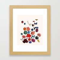 STREWN Framed Art Print