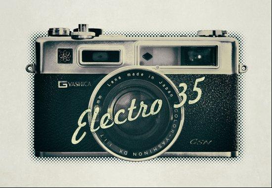 Electro 35 Art Print