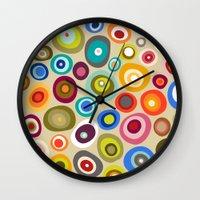 freckle spot cream Wall Clock