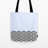 Cold Wave; Tote Bag