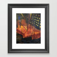 Void Secondary Framed Art Print