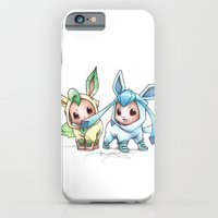 iPhone Cases featuring Brotherly Love by Randy C