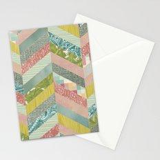 Chevron Pattern Stationery Cards