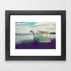 NEVER STOP EXPLORING THE… Framed Art Print
