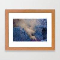 Irrealidad Framed Art Print