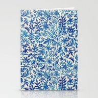 Stationery Cards featuring Floating Garden - A Wate… by Micklyn