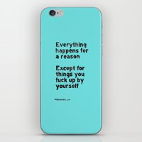 By Yourself iPhone & iPod Skin