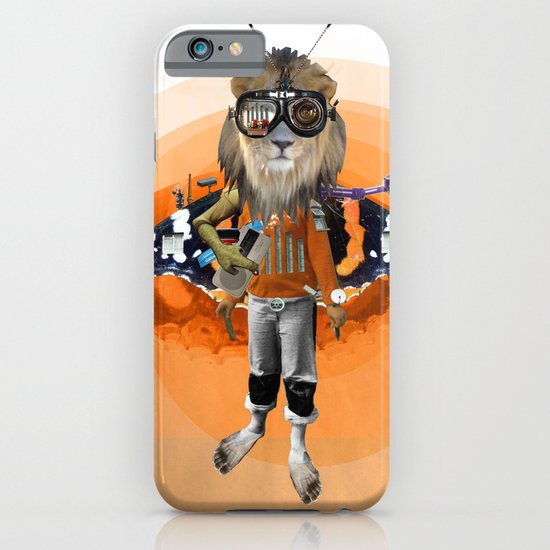 Lion Kid Collage 1 iPhone & iPod Case