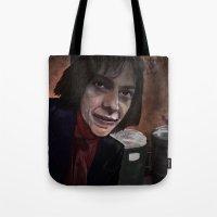 Busker Jesus Tote Bag