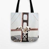 BAY GULLS Tote Bag