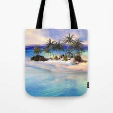 Wonderful view over the island Tote Bag