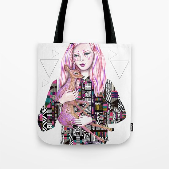 EMBRACE by Kris Tate and Ola Liola  Tote Bag