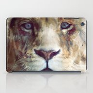 iPad Case featuring Lion // Majesty by Amy Hamilton