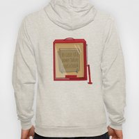 In case of a power failure: read a book Hoody