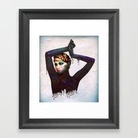 The Girl 4 Framed Art Print