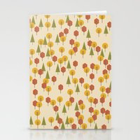 Geometric Woods Ver. 3 Stationery Cards