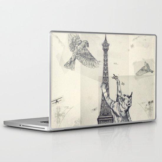 cat attack Laptop & iPad Skin