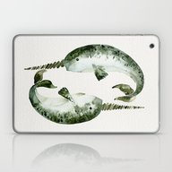 Laptop & iPad Skin featuring Narwhals by Cat Coquillette