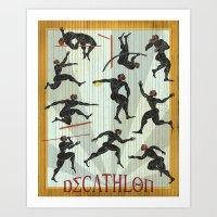 Decathlon Vertical Poste… Art Print