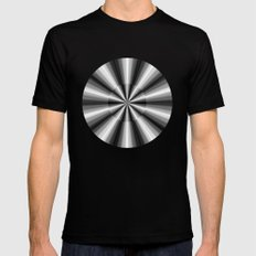 Ten Silver Pointers SMALL Mens Fitted Tee Black