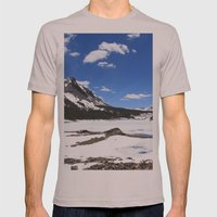 Tioga Lake Mens Fitted Tee Cinder SMALL
