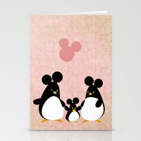 We Are A Family Stationery Cards