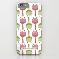iPhone & iPod Case featuring PATTERN 6 by Mi Jardín Secreto