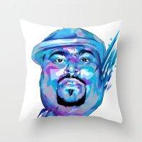 Big Pun : Dead Rappers Serie Throw Pillow
