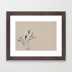 Yoga 1 Framed Art Print