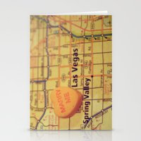 Marry Me Las Vegas Stationery Cards