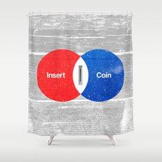 Vend Diagram Shower Curtain