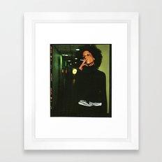 smokey Framed Art Print