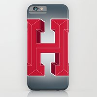 iPhone & iPod Case featuring Alphabet H by greckler