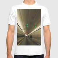 The Tunnel Mens Fitted Tee White SMALL