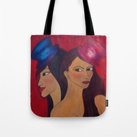 Show Girls Tote Bag