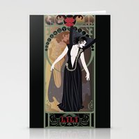 Dark Lili Nouveau - Legend Stationery Cards