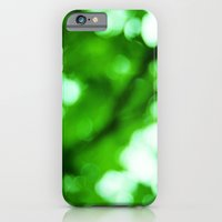 iPhone & iPod Case featuring Green Light by Victoria Dawn Burgamy