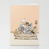 Sunday Mornings Stationery Cards