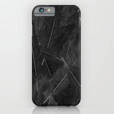 Feathered (Black). iPhone 6 Slim Case