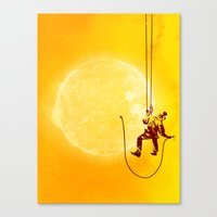 Forever Longing Canvas Print