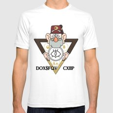 Great Symbol of Stan SMALL White Mens Fitted Tee