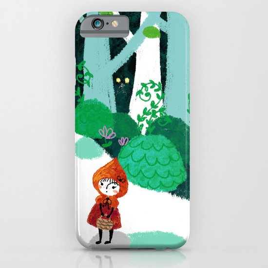 Red Riding Hood and The Wolf iPhone & iPod Case