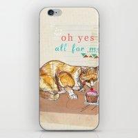 Illustration Friday- Des… iPhone & iPod Skin