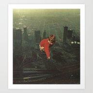 Art Print featuring Houston by Jesse Treece